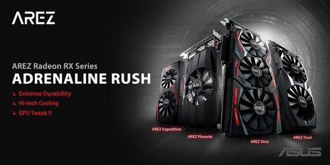 ASUS AREZ Radeon RX Series