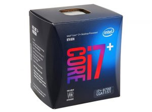 Intel Core i7+ 8700 Retail Packaging