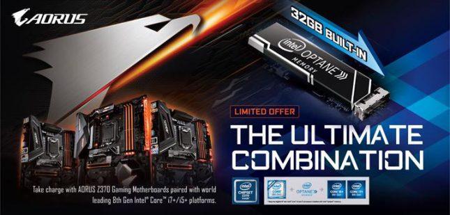 Gigabyte Intel Optane Motherboards