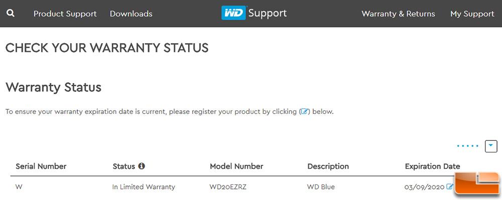 WD Blue 2TB Hard Drive WD20EZRZ Review - Legit ReviewsWD