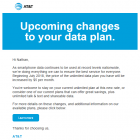 AT&T Unlimited Plan Rate Increase