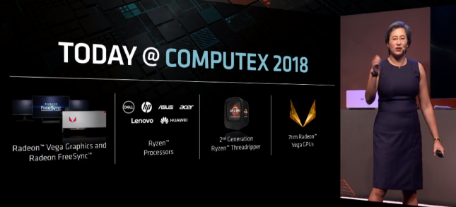 Actualizaciones de AMD Ryzen Computex