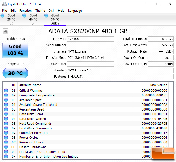 ADATA XPG SX8200 M 2 SSD Review - 480GB Model Tested - Page