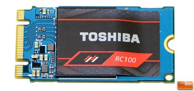 Toshiba RC100 480GB SSD