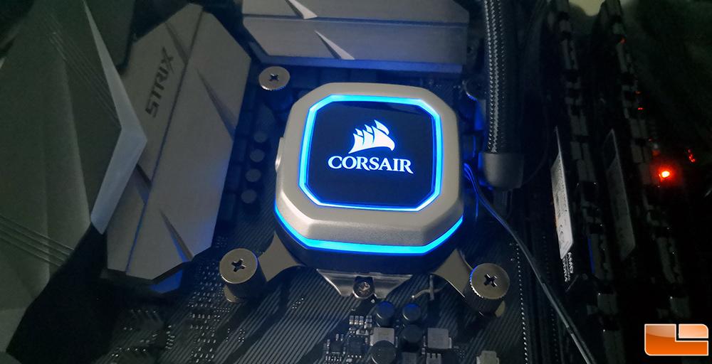 CORSAIR Hydro Series H100i PRO Liquid CPU Cooler Review