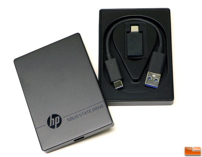 HP Portable SSD P600 Enclosure