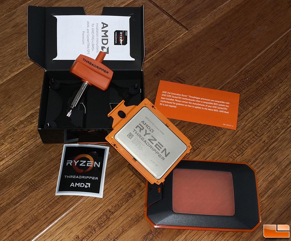 AMD Ryzen Threadripper 2990WX Processor Review - Legit