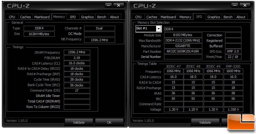 thaiphoon_Aorus DDR4 RGB 16GB 3200MHz Memory Kit Review - Legit Reviews