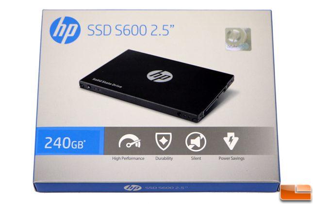 """HP SSD S600 2.5"""" 240GB Drive"""