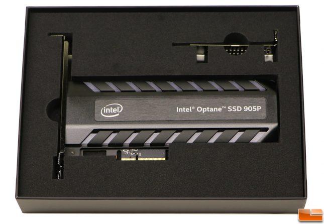Intel Optane SSD 905P Retail Packaging