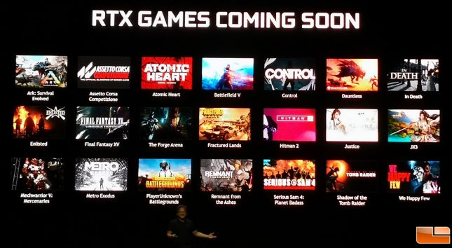 NVIDIA RTX Game Titles