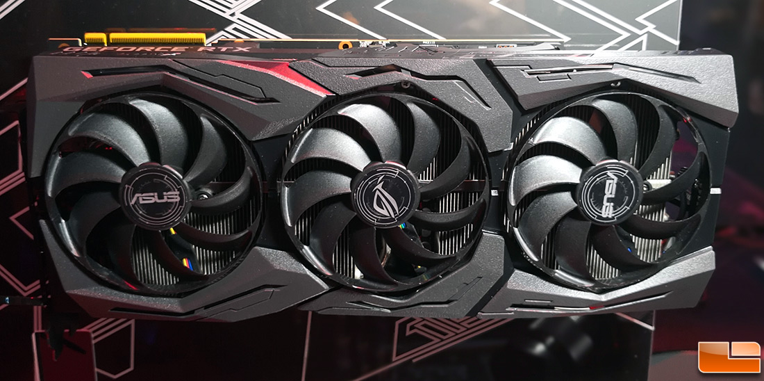 ASUS ROG GeForce RTX 2080 Graphics Card Shown At Gamescom
