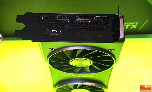 RTX 2080 Ti Video Outputs