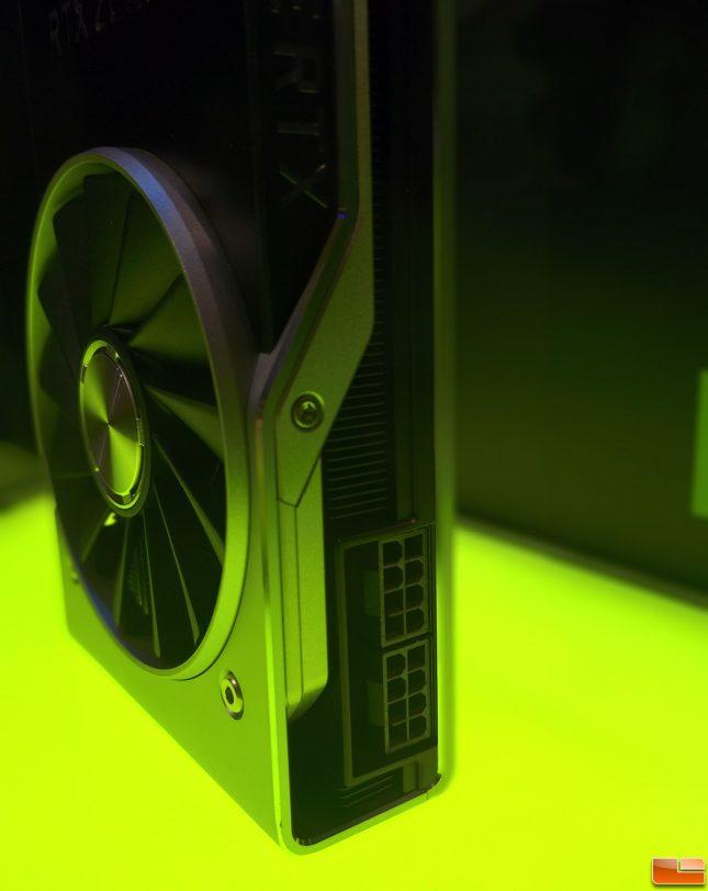 GeForce RTX 2080 Ti PCIe Power Connectors