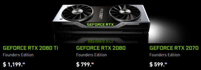 GeForce RTX Pricing