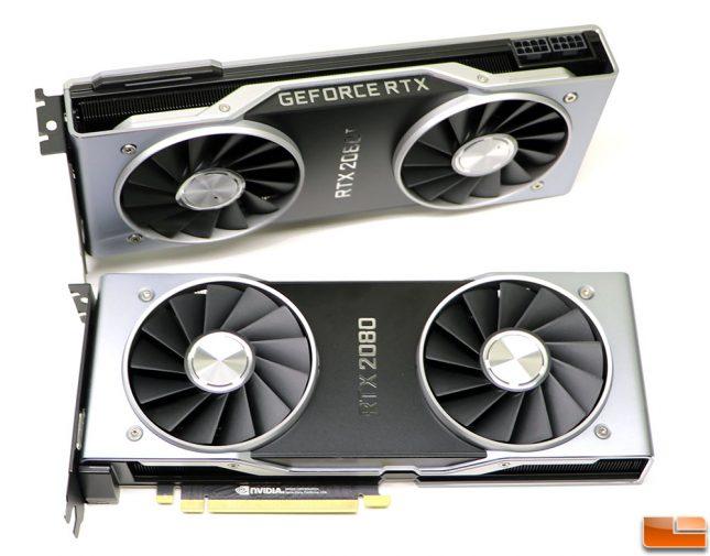NVIDIA GeForce RTX 2080 Cards