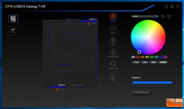 Gigabyte Fusion Application