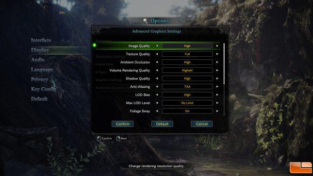 Monster Hunter: World Settings 2