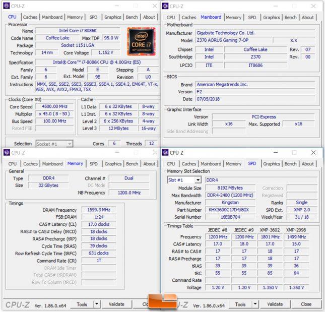 GPU Test System Settings