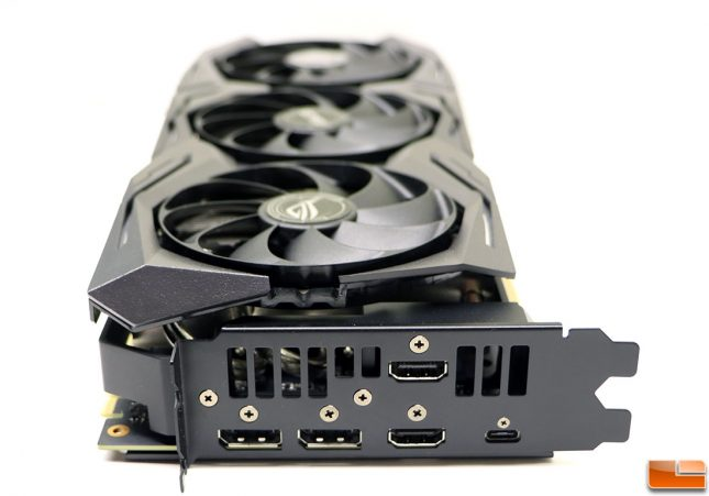 ASUS ROG STRIX GeForce RTX 2080 OC Display Outputs