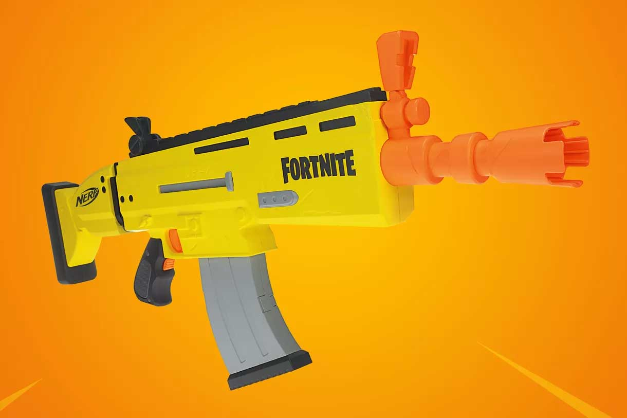 Fortnite FN SCAR Nerf Rifle Launches in 2019 - Legit Reviews