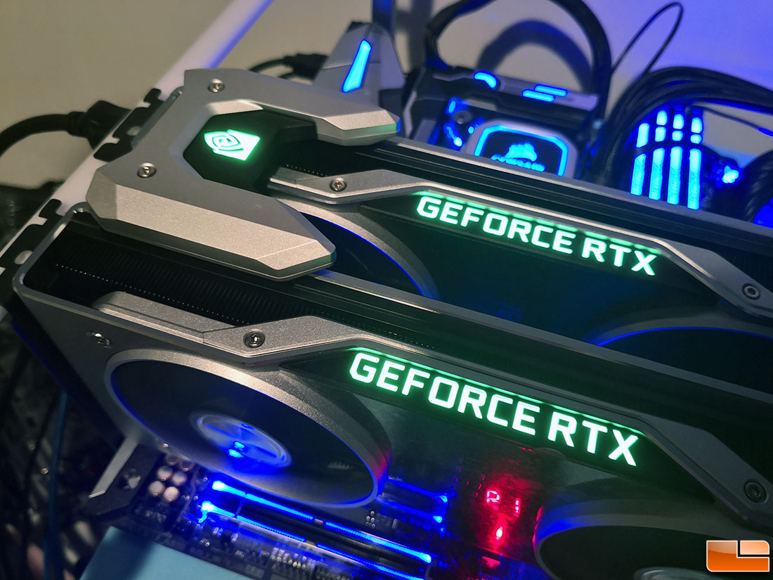 NVIDIA GeForce RTX 2080 Ti SLI Review with NVLink - Legit