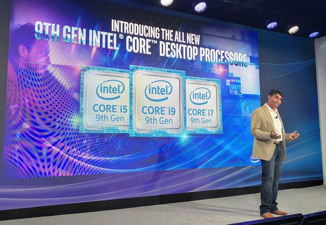 Intel 9th Gen Core Launch Event