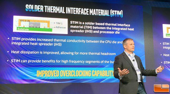 Intel Solder TIM