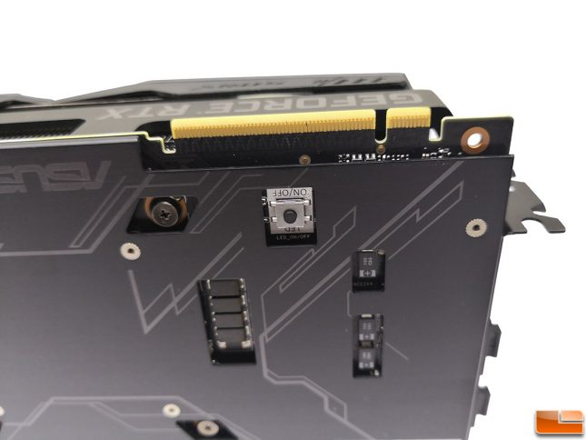ROG STRIX 2080 Ti RGB Off Switch