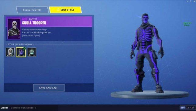 Purple Glow Skull Trooper Skin Hits Fortnite Legit Reviews Browse the uncommon arctic intel skin. purple glow skull trooper skin hits