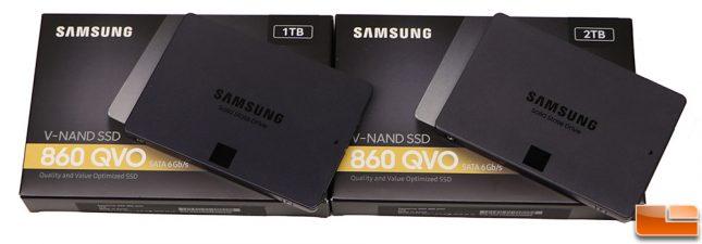 860 QVO SSDs