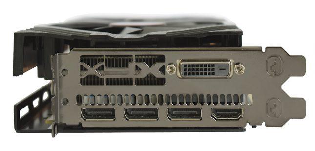 Radeon RX 590 Fatboy Video Connectors