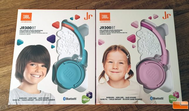 JBL JR300BT Retail Box
