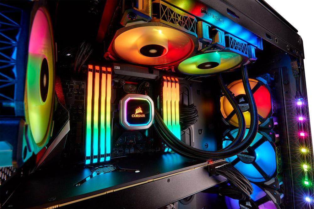 Corsair Hydro H100i RGB Platinum CPU Cooler Review - Legit