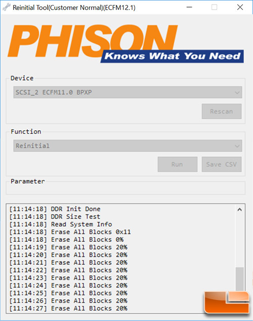 Phison Firmware Tool