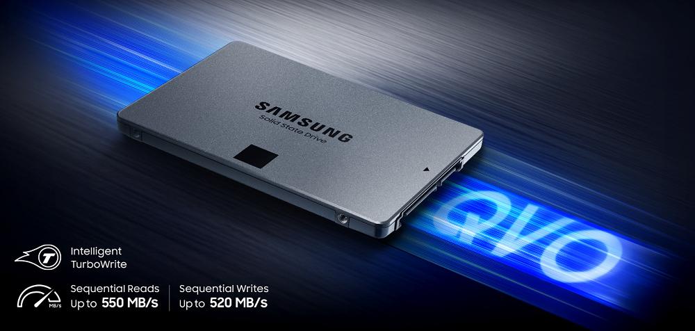 "Samsung 1TB 860 EVO SATA III 2.5/"" Internal SSD w// 550 MB//s Sequential Read Speed"