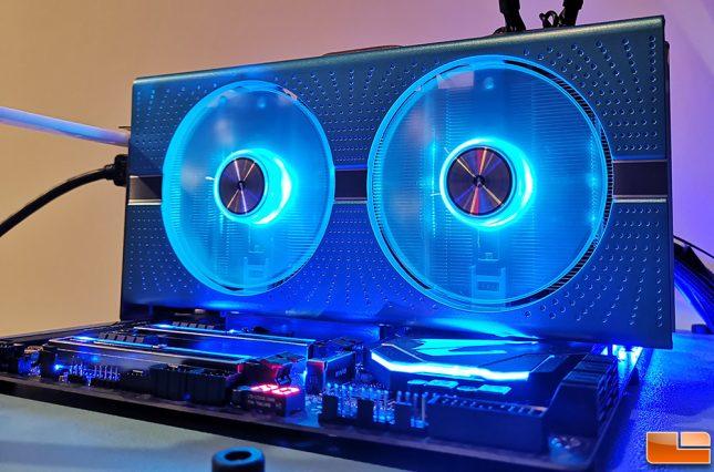 Sapphire Nitro+ 590 LED Fan