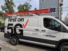 Verizon 5g service truck