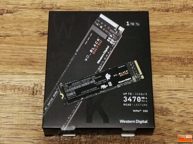 WD BLack SN750 1TB NVMe SSD
