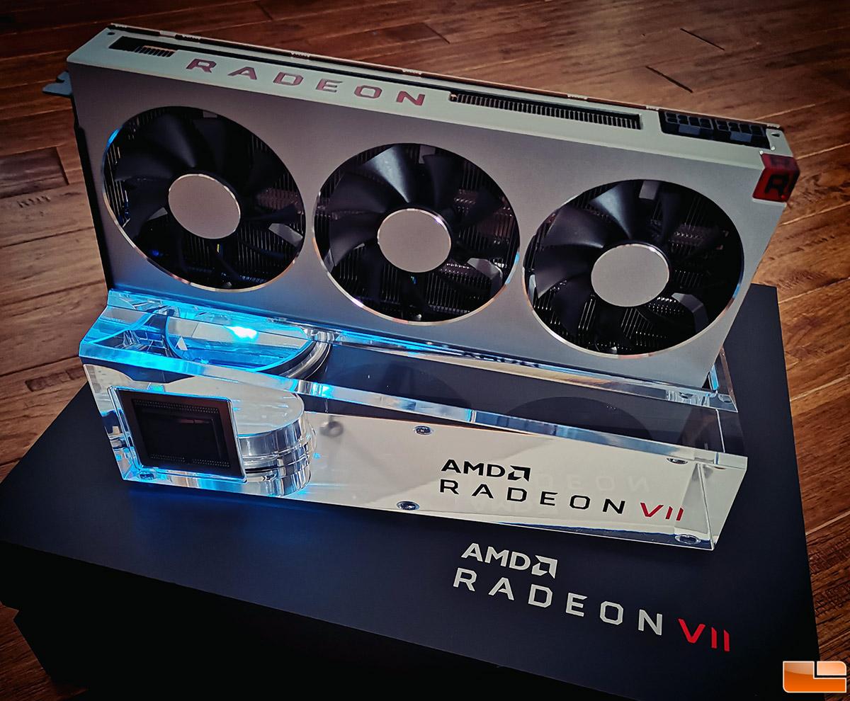 Amd Radeon Vii 16gb Graphics Card Unboxed Legit Reviews