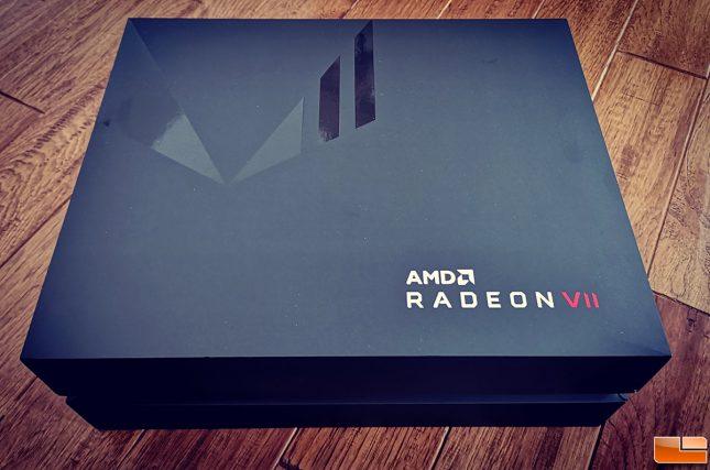 AMD Radeon VII Press Kit Box