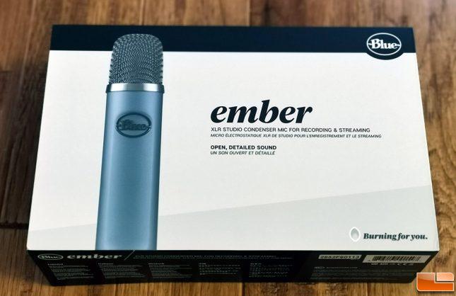 Blue Ember XLR Microphone