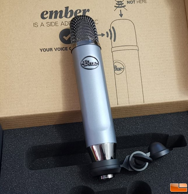 Blue Ember XLR Microphone Stand Mount