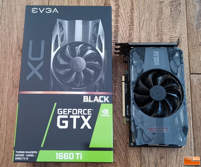EVGA GeForce GTX 1660 Ti XC Black Video Card