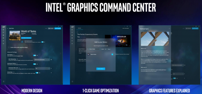 Intel Graphics Command Center
