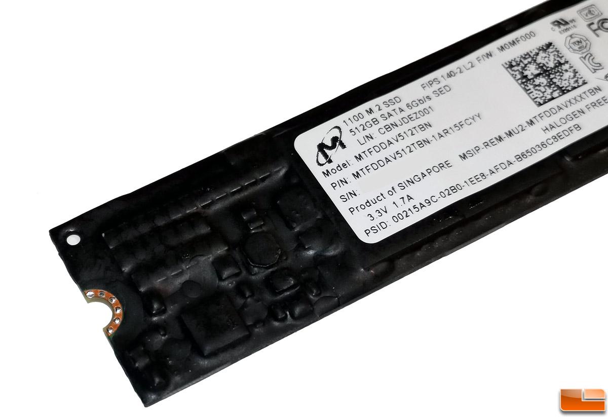 Micron 1100 512GB M 2 SATA SSD Review - FIPS 140-2 - Legit