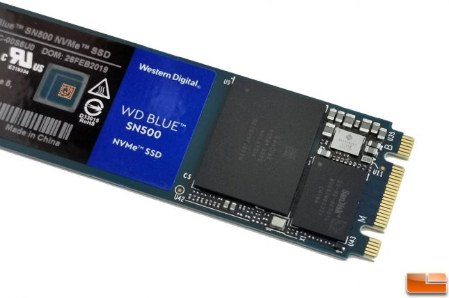 WD Blue SN500 250GB Controller