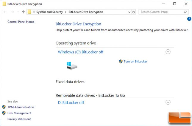 How to Enable Windows BitLocker