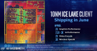 Intel Ice Lake CPU Slide