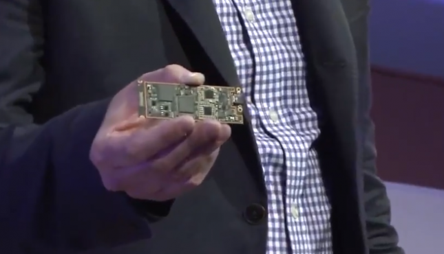 Intel Lakefield Motherboard